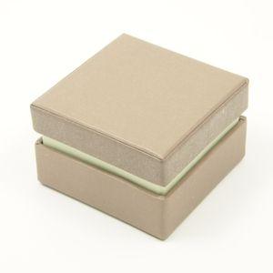 Dárková krabička 7x7x4,5 cm - šedá