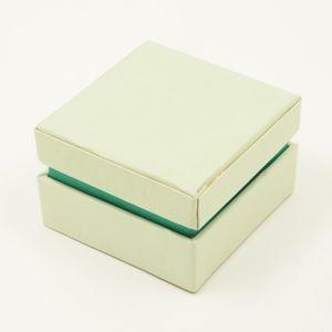 Dárková krabička 7x7x4,5 cm - světle šedá