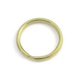 Mosazný kroužek - 18 mm